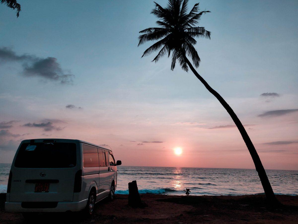 Viajes largos en furgoneta